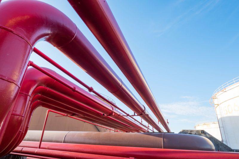 Pintura de tubos de grande porte - Tornado
