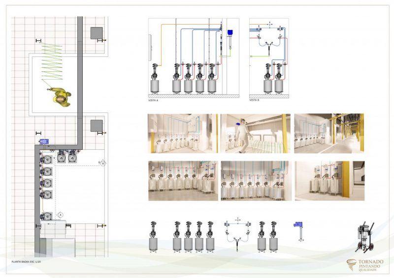 Projeto - Sistema de pintura para metal mecânica