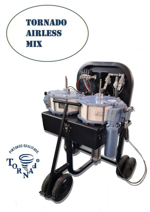 Tornado Airless Mix a nova máquina da Tornado Equipamentos de Pintura_1