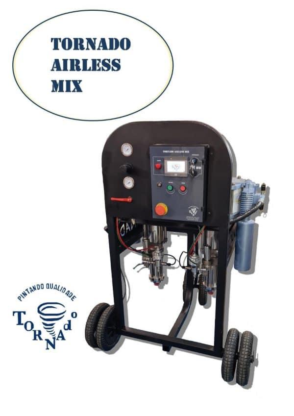 Tornado Airless Mix a nova máquina da Tornado Equipamentos de Pintura_2