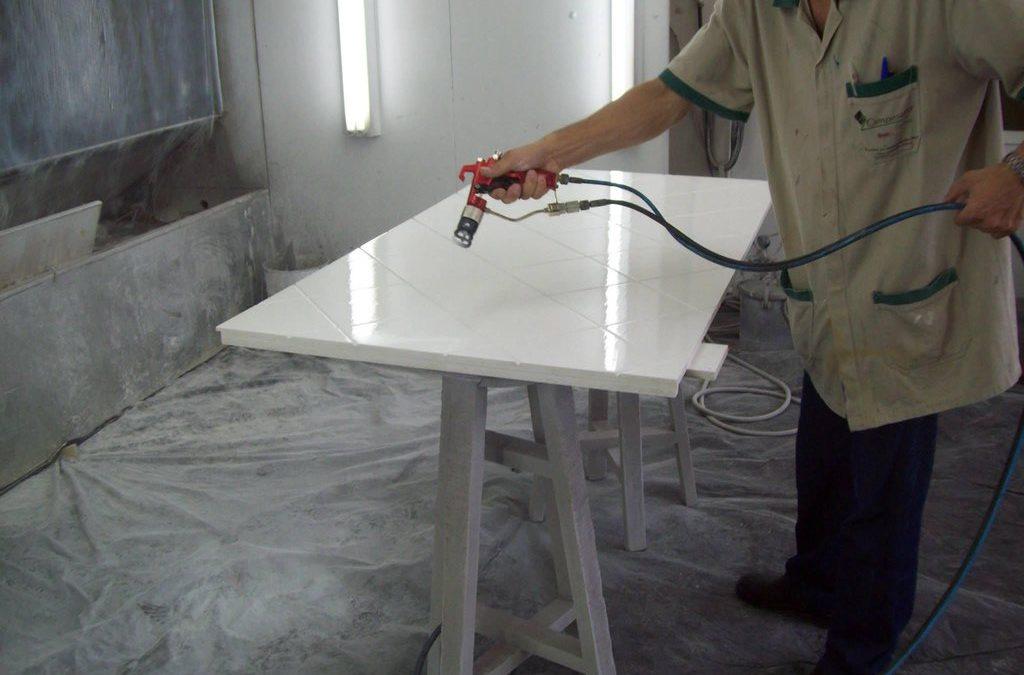 procedimento de pintura industrial
